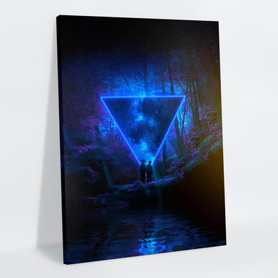 Mystic Forest Canvas Print - Lumi Prints
