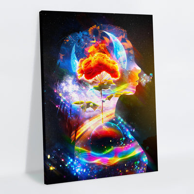 Her Canvas Print - Lumi Prints