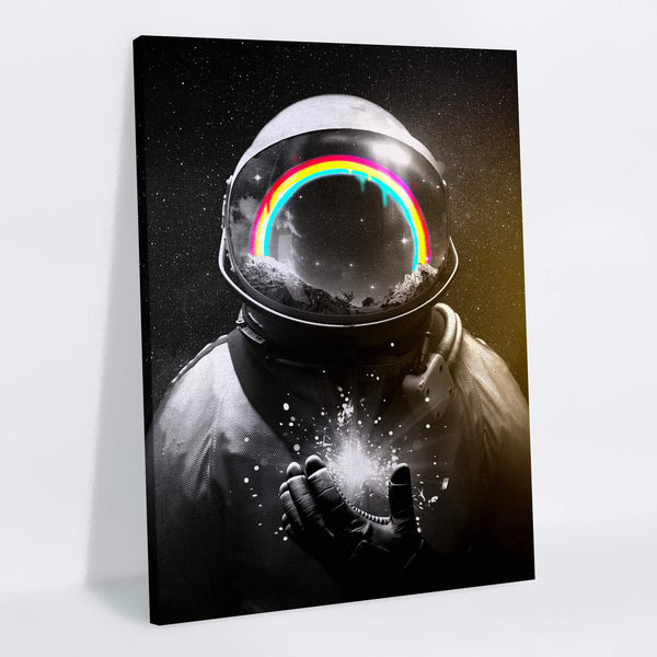 Cosmic Hope Canvas Print