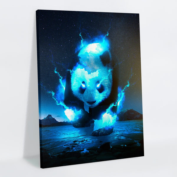 Cosmic Panda Canvas Print