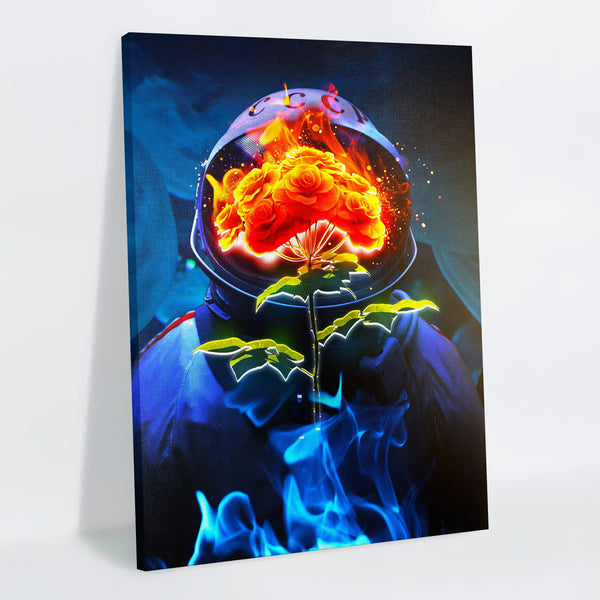 Astro Bouquet Canvas Print
