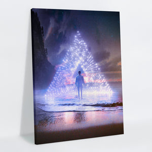 Nightshore Canvas Print - Lumi Prints