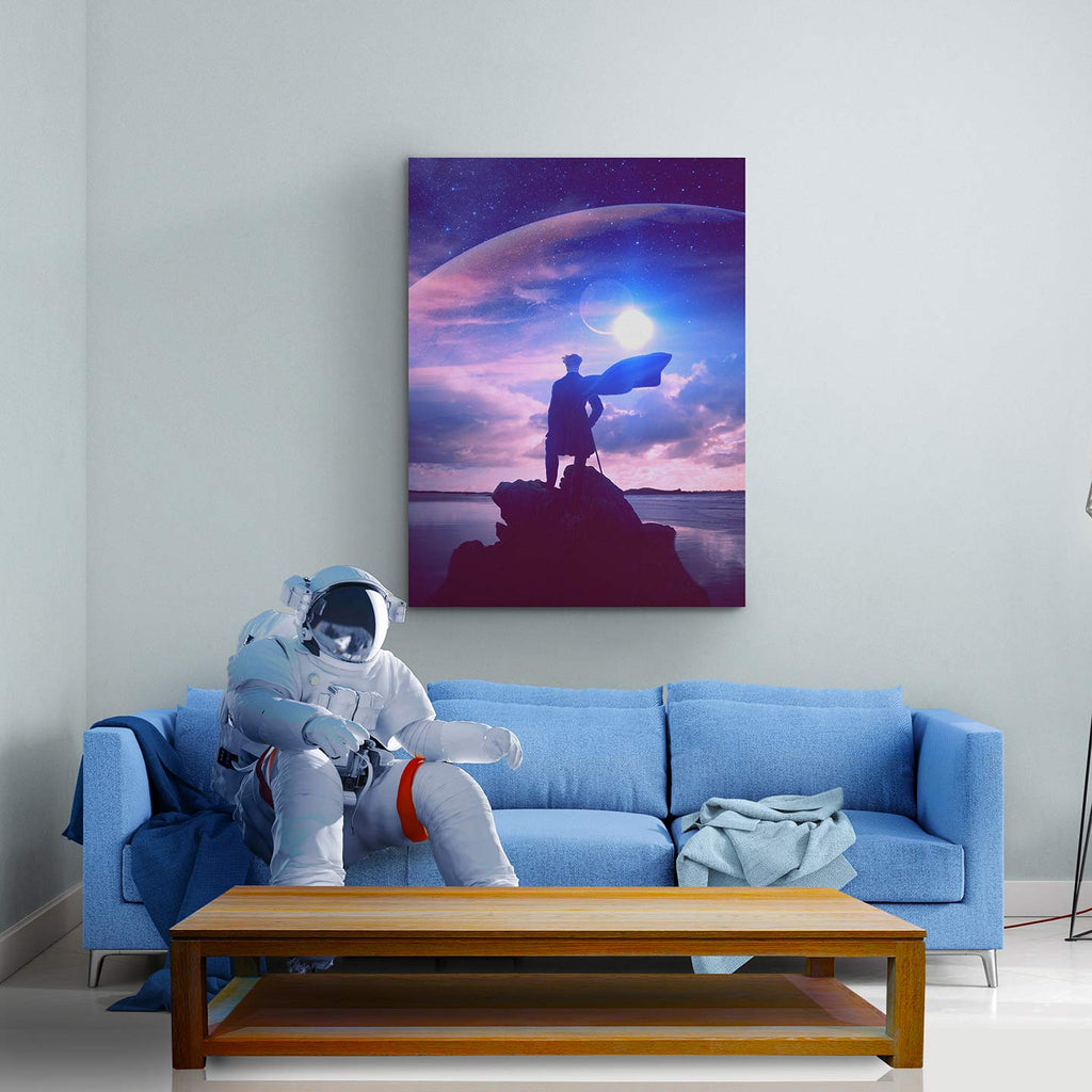 Conquer Canvas Print - Lumi Prints
