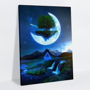 Sky Isle Canvas Print - Lumi Prints