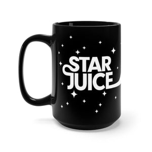 Star Juice Black Mug 15oz - Lumi Prints