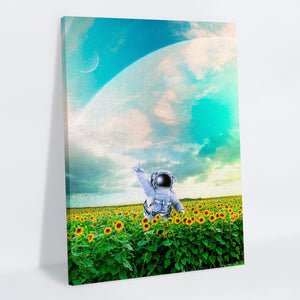 Happy Canvas Print - Lumi Prints