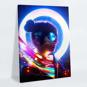 Cyberpunk Canvas Print - Lumi Prints