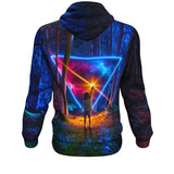 Awe & Wonder All Over Print Hoodie - Lumi Prints