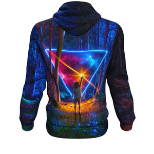Awe & Wonder All Over Print Hoodie