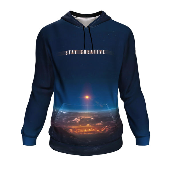 Stay Creative Pullover Hoodie