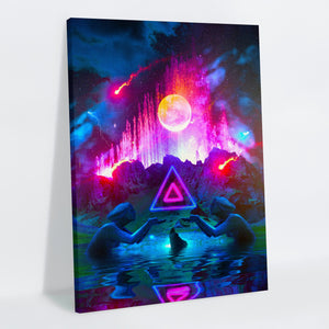 Fountain Canvas Print - Lumi Prints