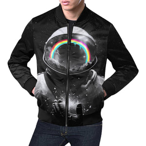 Cosmic Hope Bomber Jacket - Lumi Prints