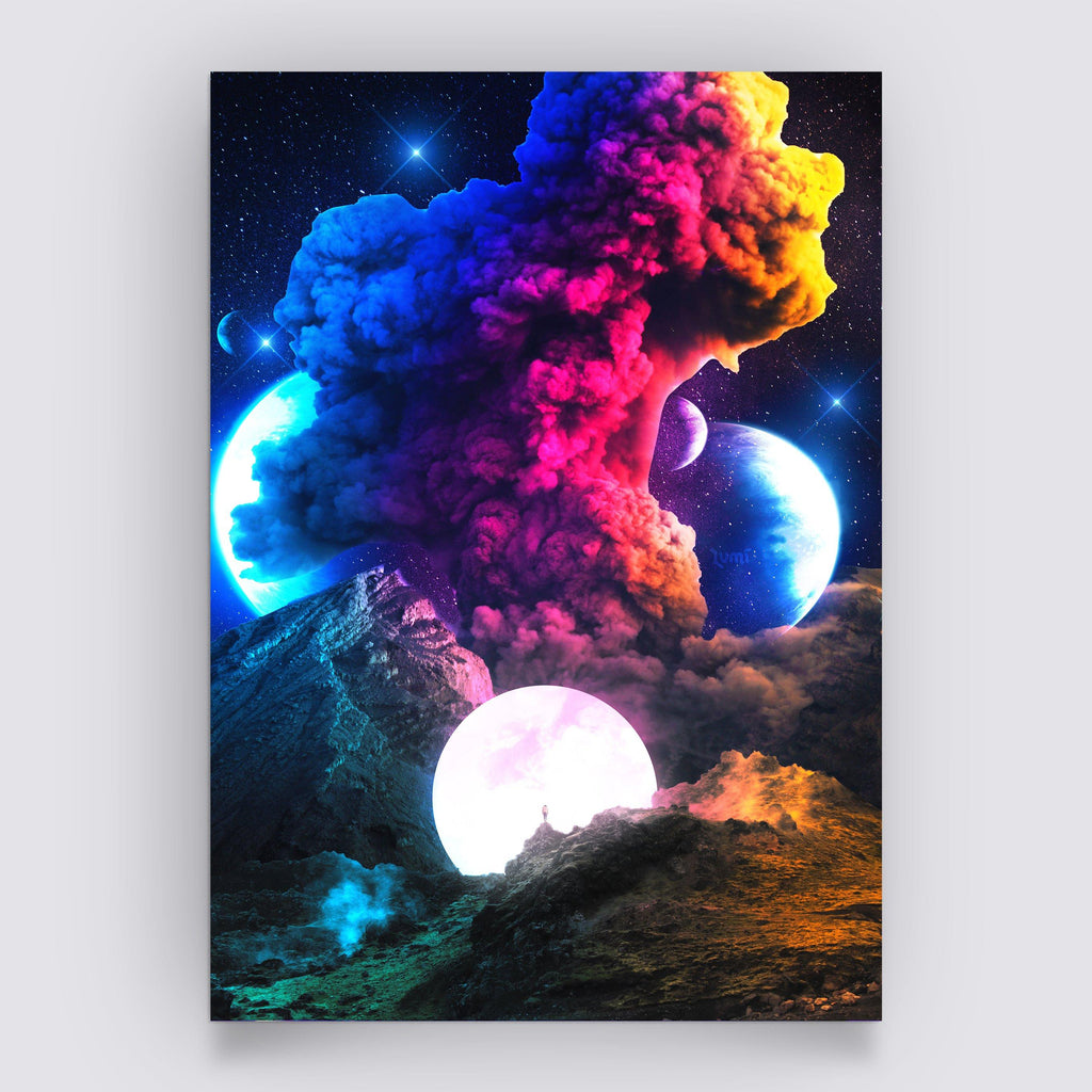 Coloruption Poster - Lumi Prints