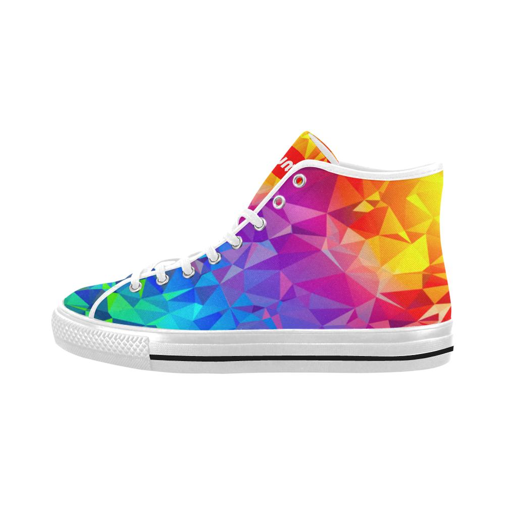 Lumi Rainbow Prism High Tops - Lumi Prints