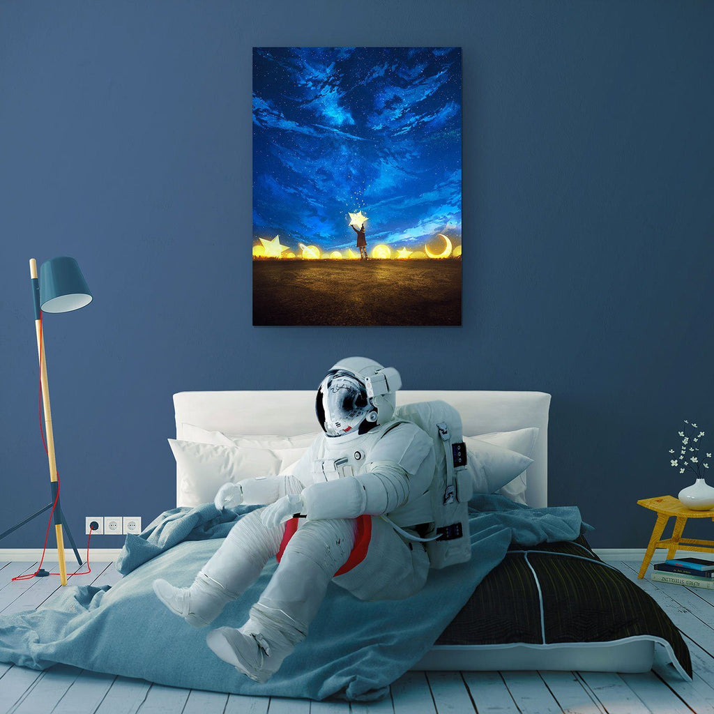 Giving Back The Stars Canvas Print - Lumi Prints