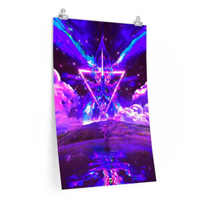 Neon Angel Premium Poster (Limited Edition)