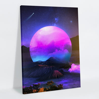 Vaporwoven Canvas Print - Lumi Prints