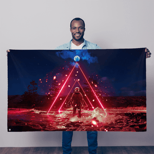 COSM Flag - Limited Edition of 20 - Lumi Prints