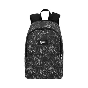 Lumi Black Marble Backpack - Lumi Prints