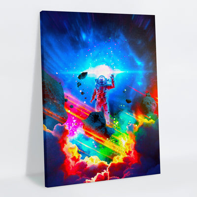 Subspace Frequency Canvas Print - Lumi Prints