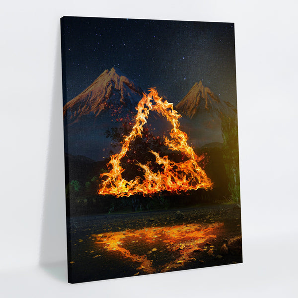 Fireangle Canvas Print