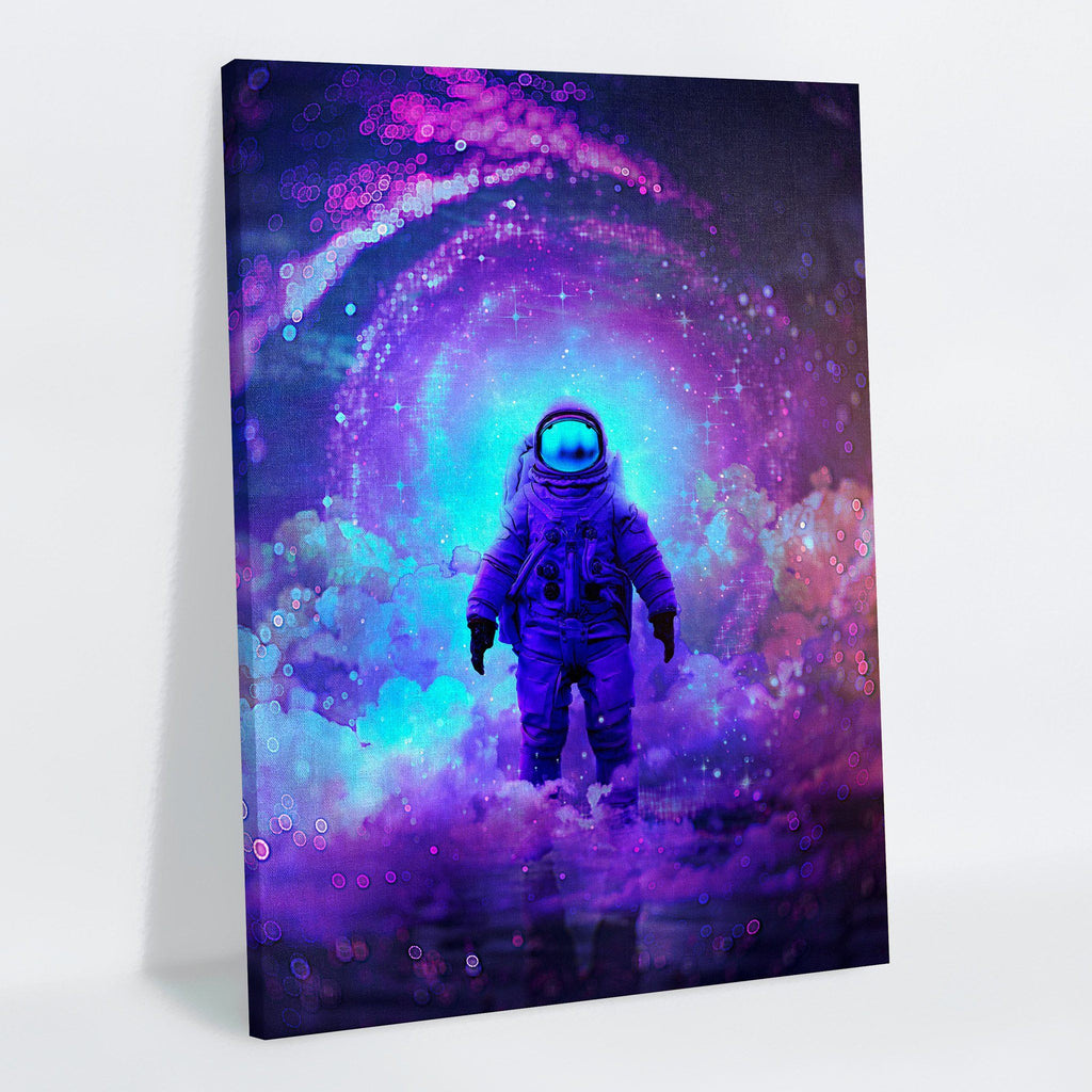 Finally Home Canvas Print - Lumi Prints