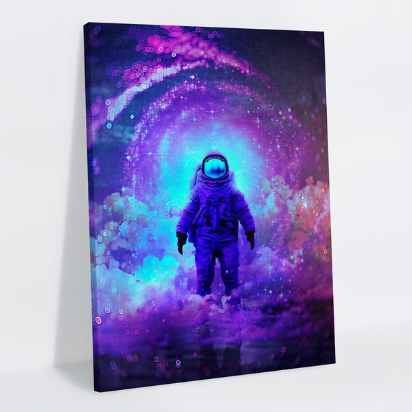 Finally Home Canvas Print