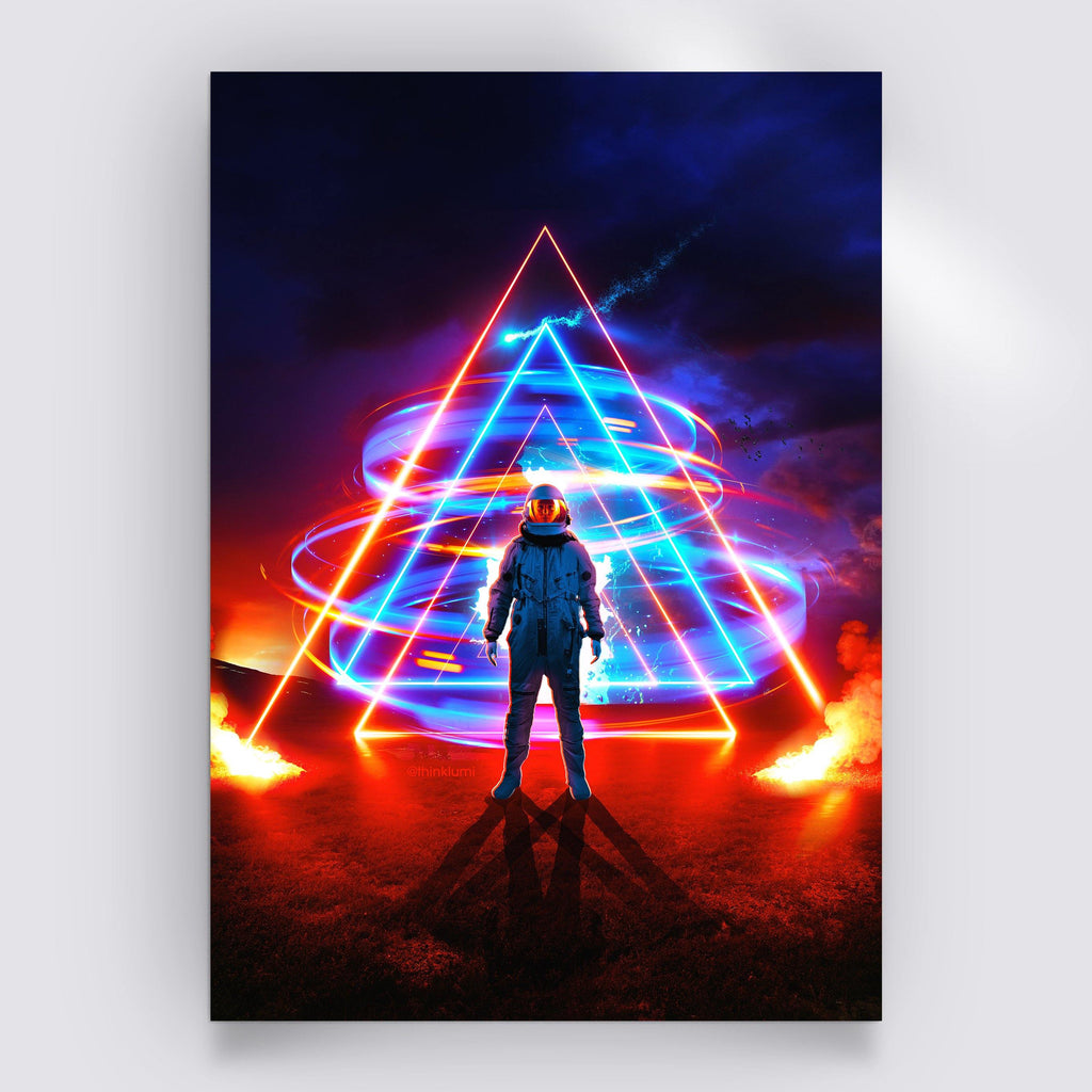 Triangler Poster - Lumi Prints
