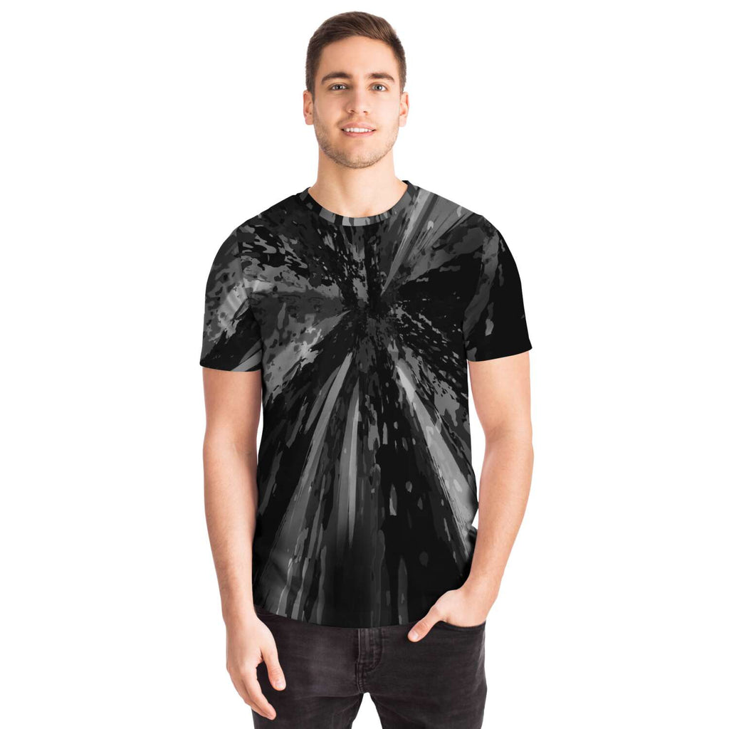 Black Carbon Tee - Lumi Prints