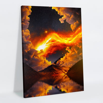 Calamity Canvas Print - Lumi Prints