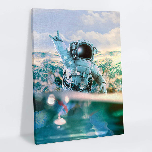 Astronautical Canvas Print