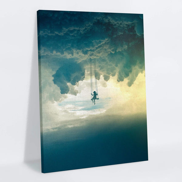 Sky Swing Canvas Print