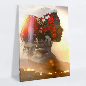 Silhouette Canvas Print - Lumi Prints