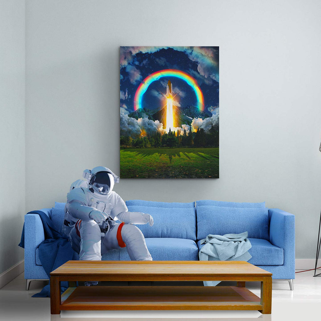 Launch Canvas Print - Lumi Prints