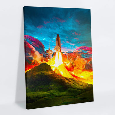 Takeoff Canvas Print - Lumi Prints