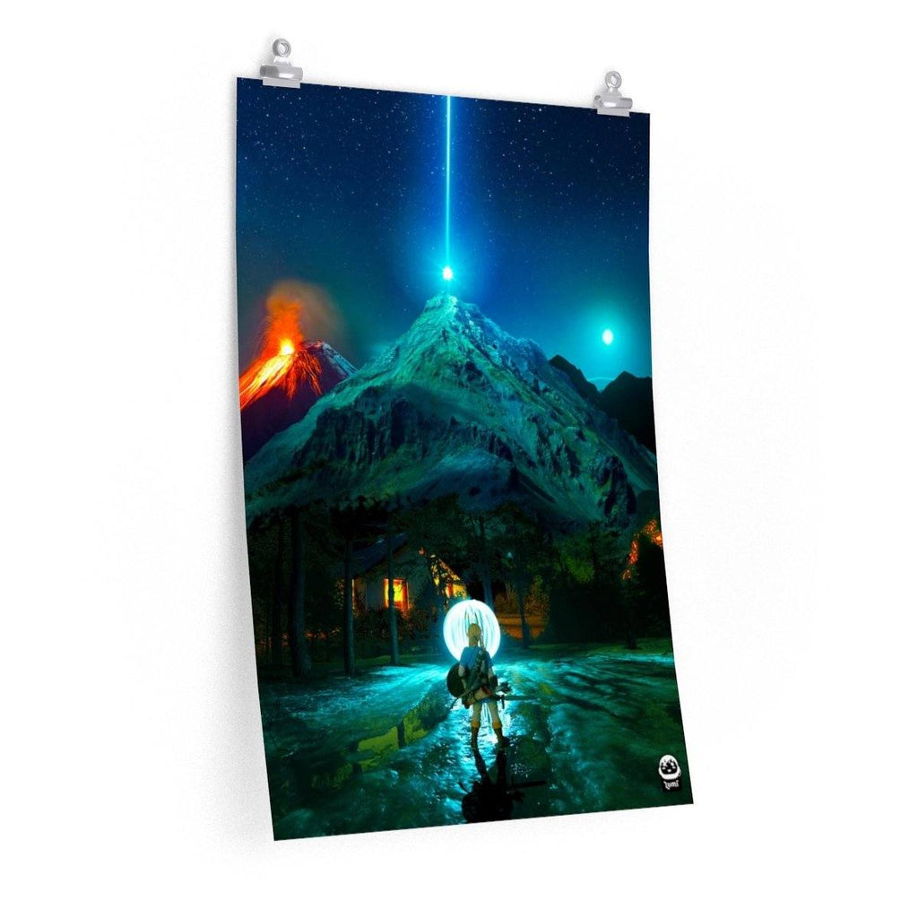 Zelda: Breath of the Wild Premium Poster