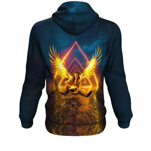 Night Angel Hoodie - Lumi Prints