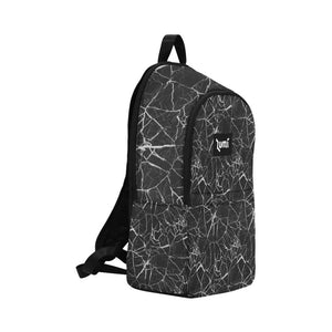 Lumi Black Marble Backpack