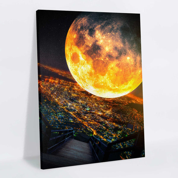 Impending Canvas Print