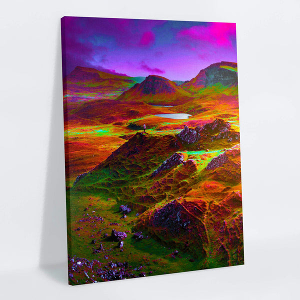 Rainbow Plains Canvas Print