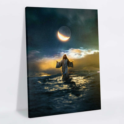 Blessed Savior Canvas Print - Lumi Prints