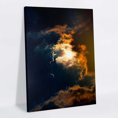 Cosmic Wish Canvas Print - Lumi Prints