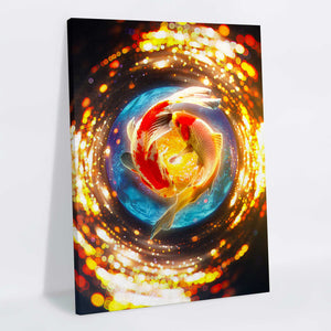 Koi Canvas Print - Lumi Prints