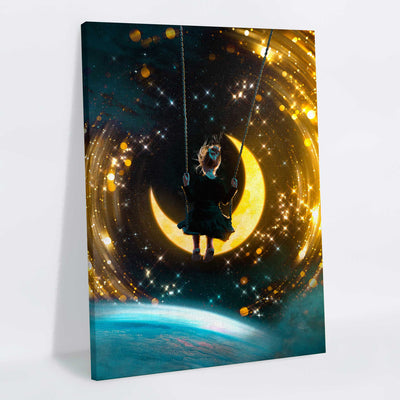Cosmic Swing Canvas Print - Lumi Prints