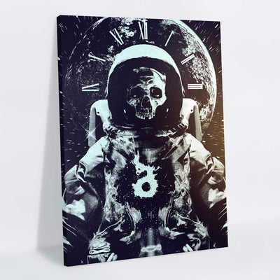 Astroskull Canvas Print (Limited Edition of 8) - Lumi Prints