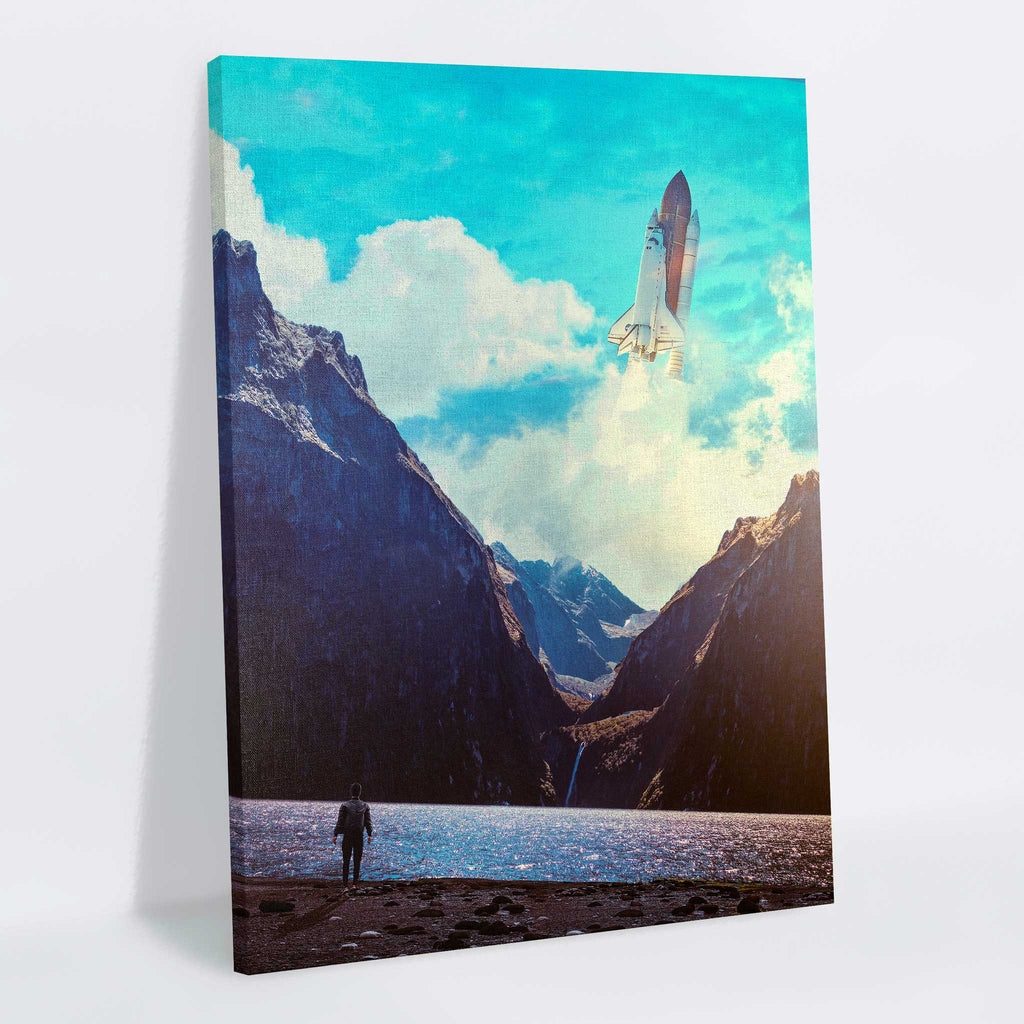 Trajectory Canvas Print - Lumi Prints