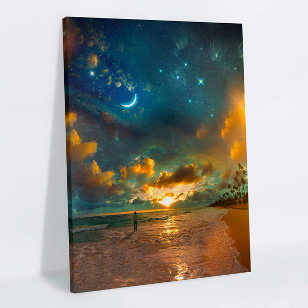 Sea Of Dreams Canvas Print
