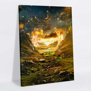 Maximalist Nature Canvas Print - Lumi Prints