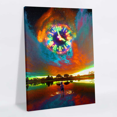 Time Canvas Print - Lumi Prints