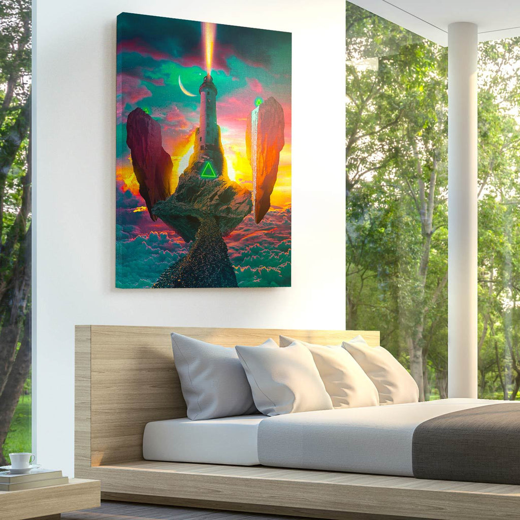 Skyhouse Canvas Print - Lumi Prints